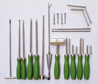 Bukkotomie SET - Basic, Instrumente für die transbukkale Zahnextraktion MTE / Schraubextraktion nach Stoll