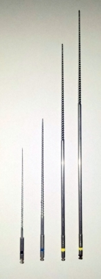 Hochflexible Ni-Titan Feilen für die Endodontie - Maschinenfeilen - Länge: 60 mm