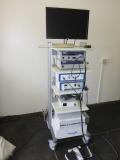 Endoskopy equipment trolley