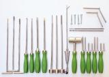 Bukkotomie SET - Advanced, Instrumente für die transbukkale Zahnextraktion MTE / Schraubextraktion nach Stoll