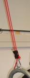 Seil mit Haltevorrichtung
